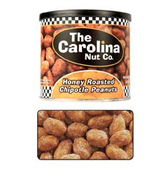 chipotle peanuts, spicy peanuts, honey roasted peants, flavored peanuts